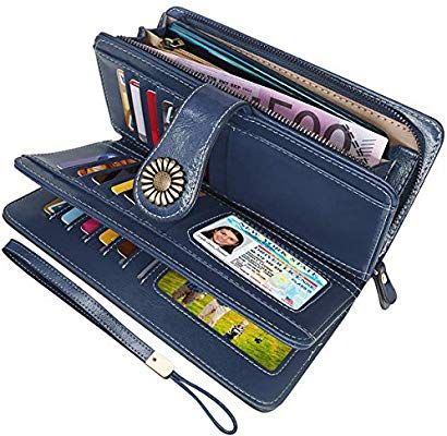 Geldbörse Geldbeutel Damen Portemonnaie Leder Frauen Neu