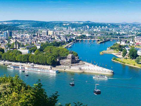 Deutsches Eck | Koblenz, Germany