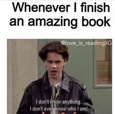 Too many books are amazing!