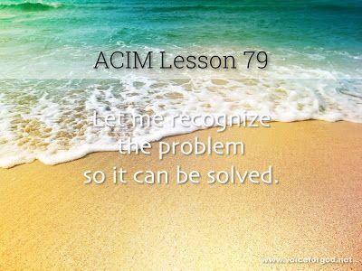 Acim Workbook Lesson 79