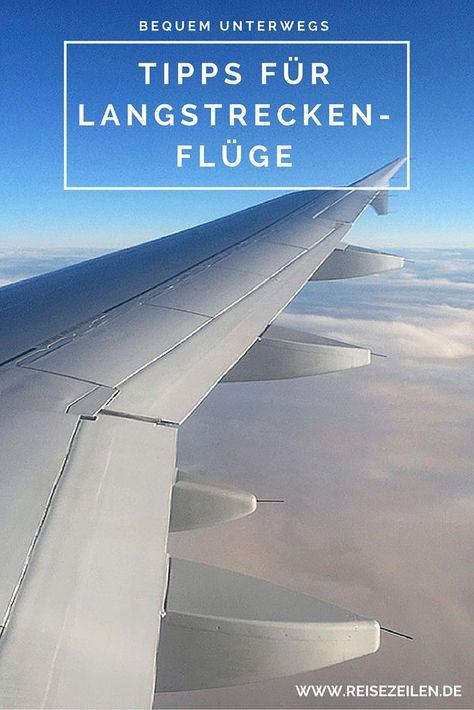 Fliegen ist bei #Reisen in entfernte Regionen ein notwendiges Übel. Mit diesen Tricks versuche ich, mir einen #Langstreckenflug möglichst angenehm zu machen.