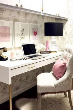 Great Home Office Ideas Decorating Tips Black And White Decor 20190315