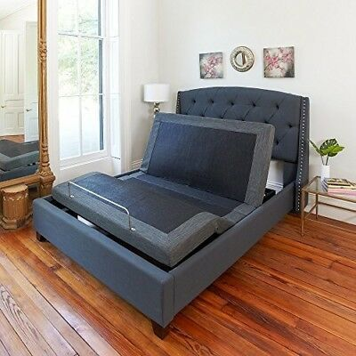 Details About Adjustable Bed Frame Queen Size Electric Base