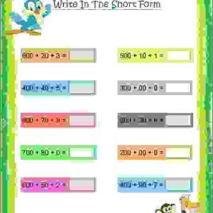Cbse Maths Number Worksheet For Class 2 Number Names Worksheets