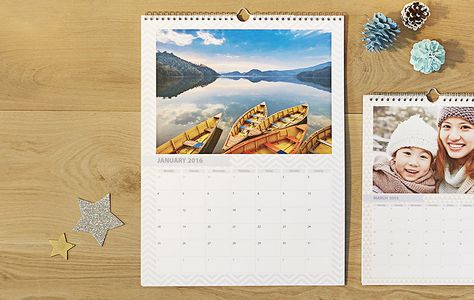 Personalised Calendars Photo Calendars Diaries Photobox
