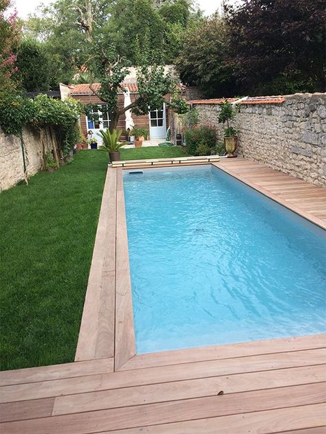 With the appropriate panorama design, swimming pools also ...