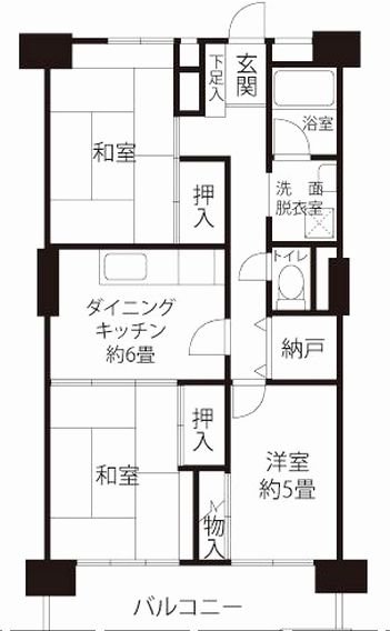 Traditional Chinese House Plans Unique Floorplan For A Typical 3dk Apartment D Means Dining K Tiny House Floor Plans Apartment Floor Plans House Floor Plans