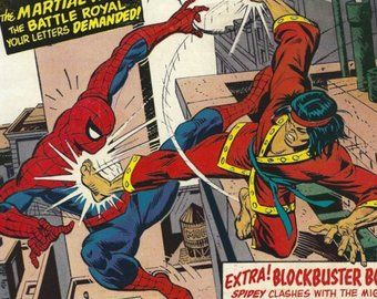 Spider Man Vs Shang Chi Spiderman Man Vs Geek Culture