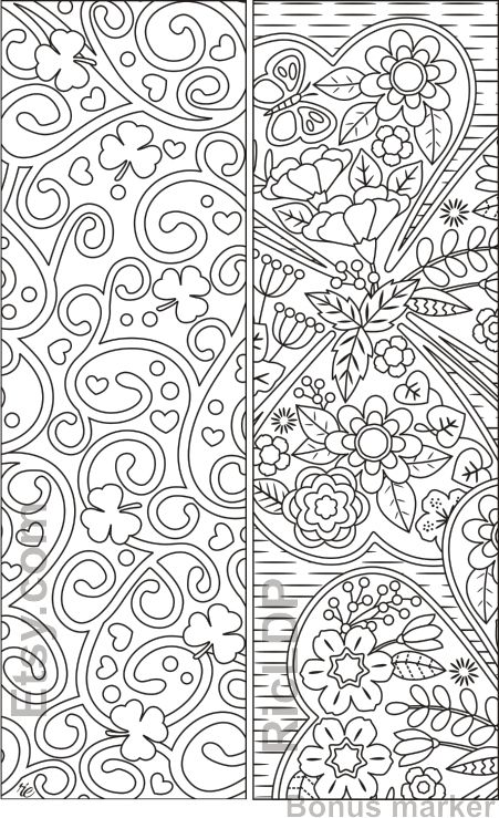 Set Of 8 St Patrick S Day Coloring Bookmarks Shamrock Etsy Coloring Bookmarks Free Coloring Pages Coloring Pages