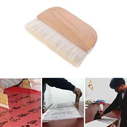 Manyo Flachkopf Pinsel Set Ziegenhaar 1pcs Ideal Fur Aquarell Olgemalde Und Wandmalerei Wandmalerei