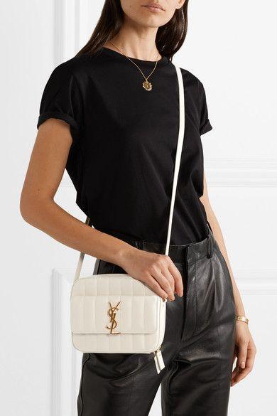 9d77c5b3bdb Saint Laurent | Vicky quilted leather camera bag | NET-A-PORTER.COM
