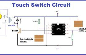 Touch Switch Circuit Switch Circuit Lamp Switch