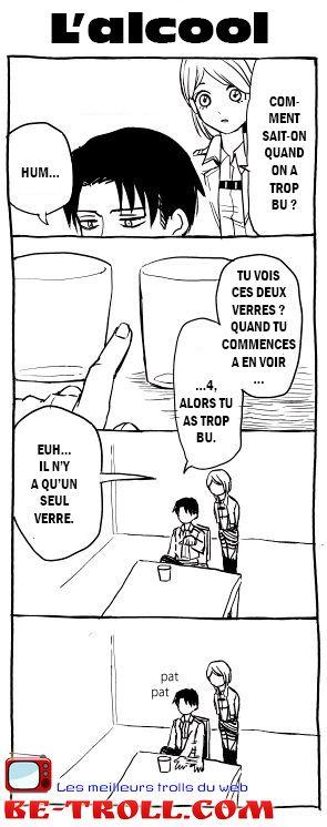 Shingeki no Kyojin (ou Attack on titan) Comment sait-on quand on a trop bu ?