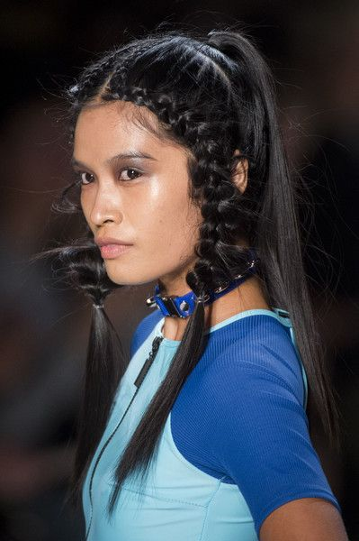 Chromat, Spring 2018 - Swoon-Worthy Hair and Beauty Trends at NYFW Spring 2018 - Photos