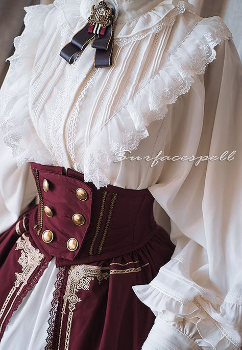 Surface Spell -Unfinished Book- Lolita Corset