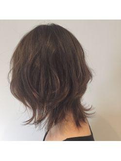 ウルフカット ヘアスタイル 髪型 ビューティー