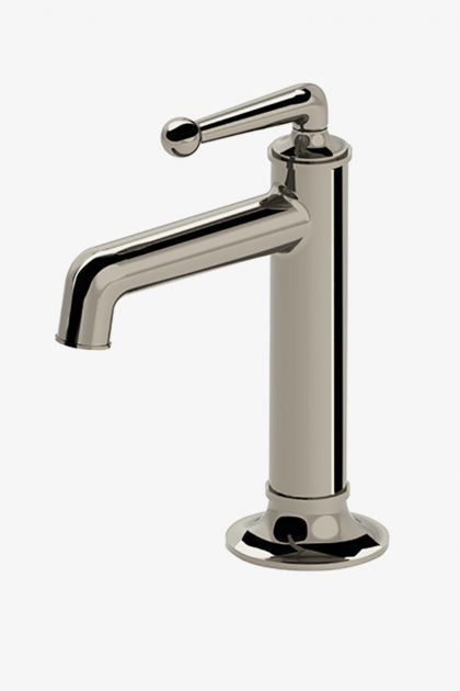 Discover Dash One Hole High Profile Bar Faucet With Metal Lever