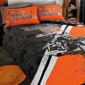 Harley Davidson Biker Crew Quilt Cover Set Davidson Homes Harley Davidson Baby