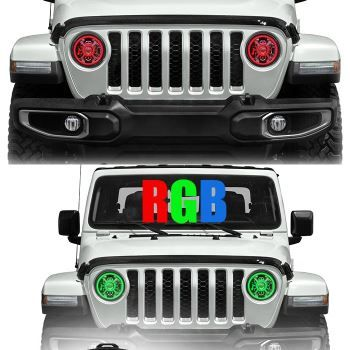 3 Light Modes 100w 6500lm High Beam 30w 3000lm Low Beam And 22w