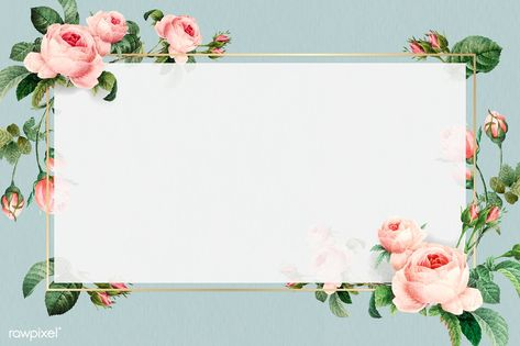 Golden rectangle frame design vector | premium image by rawpixel.com / taus
