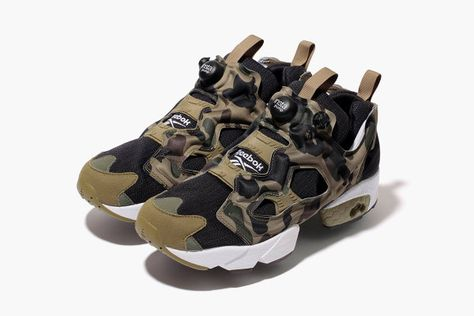 "8dbec4b8f7d A Bathing Ape x mita sneakers x Reebok Instapump Fury OG ""Camo ..."