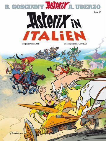 Gebundenes Buch Asterix In Italien Asterix Bd 37 In 2020