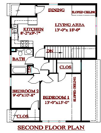 CADSmith ~ 3 Bay Garage with 2 bedroom apartment over Plan AG3 ...