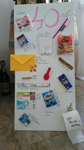 Bemerkenswerte Ideen Lustige Geschenke Zum 50 Geburtstag Selber