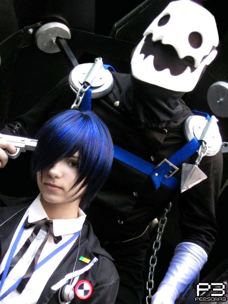 Minato And Thanatos Persona 3 By Alas Etereas Persona