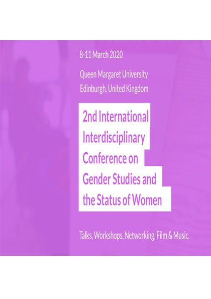 2nd International Interdisciplinary Conference on Gender Studies and