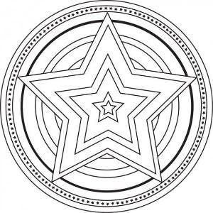 Mandalas Mandala Coloring Pages Star Coloring Pages Mandala