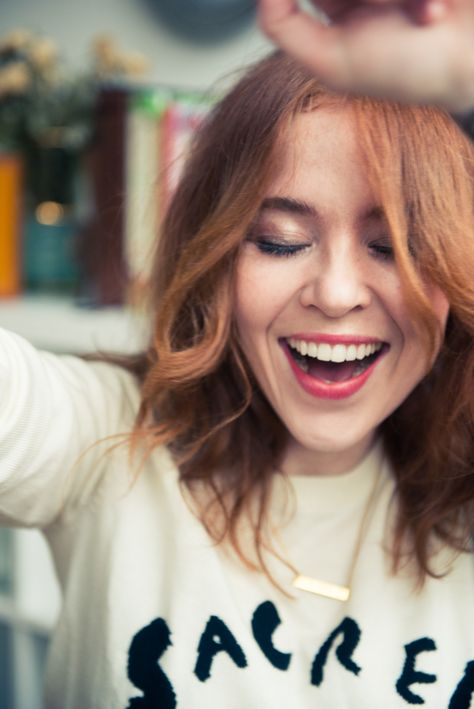 We raided the London home of Television presenter & writer, Angela Scanlon…