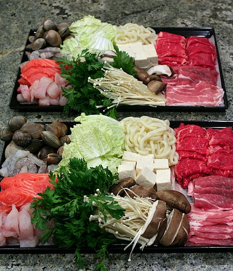 Shabu Shabu--man do I miss the food in Korea :(                              …