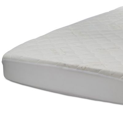 Beautyrest Kids Comforpedic Fitted Crib Mattress Pad Cover In White Crib Mattress Mattress Toddler Bed Mattress