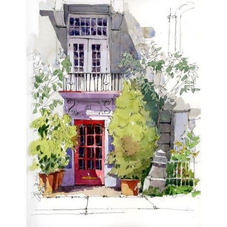 Cours De Croquis Et D Aquarelle D Ete Pour Adultes A Montreal