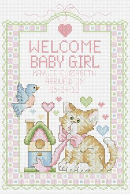 Customisable Cross Stitch Pattern Baby Boy Announcement Cross Stitch Pattern GET 1 FREE #P236 Newborn cross stitch BUY 2 Birth Sampler