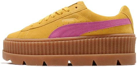 3d0c6b4895a08 Puma X Fenty Rihanna Cleated Creeper Suede 366268 03 Women's UK 6.5 ...
