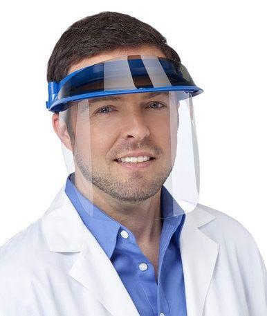Medical Face Shield Visor Pink REUSABLE-3D Printed Made in EE.UU