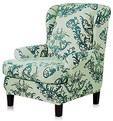 Tikami Wingback Chair Covers Stretch
