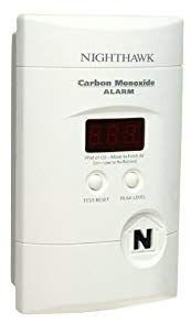 Kidde Nighthawk Carbon Monoxide Alarm Review Carbon Monoxide Alarms Carbon Monoxide Carbon