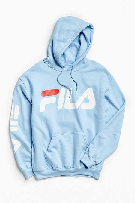 6bc5338e FILA Script #hoodie Sweatshirt | hoodie in 2019 | Fila outfit, Mens ...