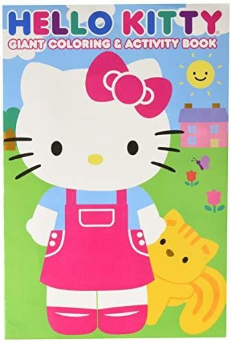 Hello Kitty 28027bw 11x16 Giant Coloring Amp Activity Book Multicolor Kitty Coloring Hello Kitty Coloring Cat Coloring Book