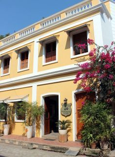 12 Hotels In Pondicherry Near The Beach For All Budgets India Travelfrench Quartersri
