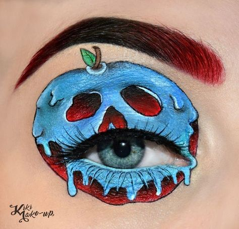 The Poisonous Apple From Snow  is listed (or ranked) 11 on the list Disney Makeup That's Beyond Magical