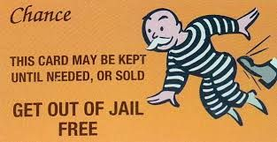 Image Result For Get Out Of Jail Free Card Card Templates Free Holiday Card Template Card Template