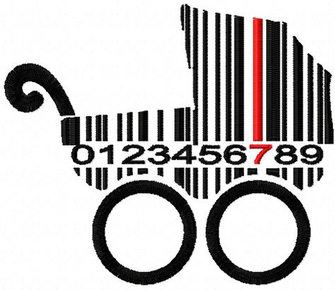 Barcode Buggy Free Machine Embroidery Design Machine Embroidery