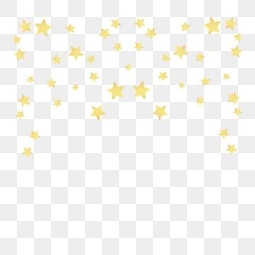 Golden Yellow Floating Star Element Gold Yellow Floating Png And Vector With Transparent Background For Free Download Star Clipart Gold Clipart Background Vintage