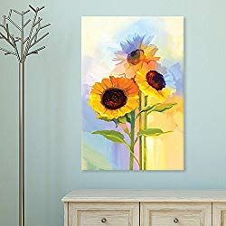 100 Creative Ways To Display Art Placement Home To Z Wall Canvas Painting Colorful Oil Painting Wall Painting