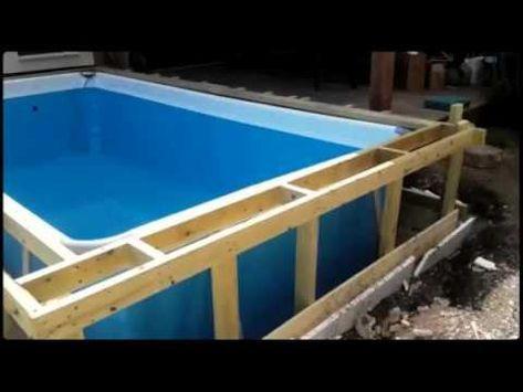Selbstbau Pool Zum Bahnen Schwimmen Gemeinsam Mit Dem Kunden Wurde Geplant Und Am Ende Wurde Es Ein Pool Mit 15 5m Lange Die Gartenpools Pool Gunstiger Pool