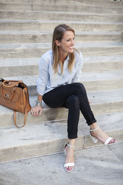 open toe shoes business casual